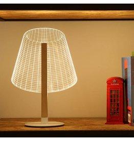 3d illusie lamp